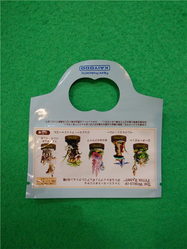 Recyclable PP Material Special Shape Plastic Bags for  Collecting Toys packaging, Custom Made Shape